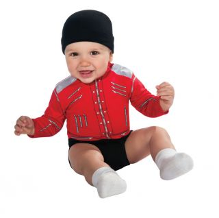 Michael Jackson Beat It Infant Baby CHILD Costume Size 0 6 Months NEW