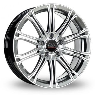 17 CW (by Borbet) CW1 Alloy Wheels & Nankang NS 2 Tyres