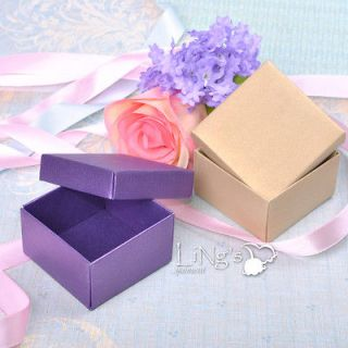 200 Gift Favor Boxes Wedding Baby Shower Party Candy Box Decoration
