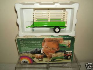 SIKU MODEL No.2257 LIVE STOCK TRAILER VN MIB