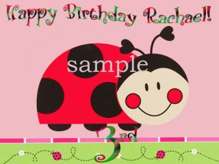 ladybug edible cake image icing topper party supplies from canada