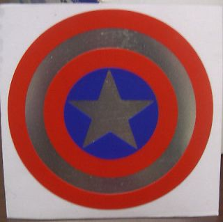 Captain America Shield vinyl decal many sizes & options