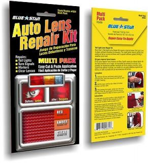 REPAIR KIT/RV/MOTORCYCLE/CAMPER/TRAILER MULTI PACK LENS REPAIR KIT