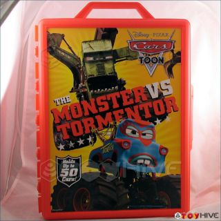 Disney Cars Carrying Case Holds 50 Monster Mater cover