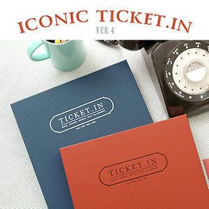 Hyundai Hmall korea new ticket in V.4 ticket book album storage