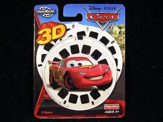 Fisher Price View Master Reels Disney Pixar CARS 2 MOVIE McQueen