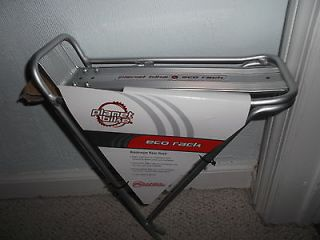 ~ New Aluminum ~ Planet Bike ~ Rear Rack ~ Silver / Gray ~ Bicycle