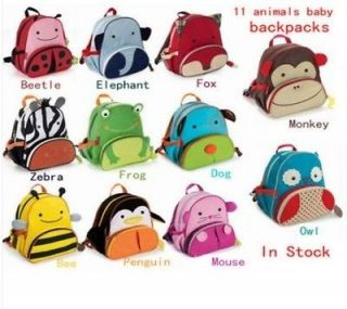 Hot Lovely Animal Shape Baby Child Oxford canvas ANIMAL backpack
