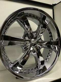 Chrome Wheels Rims Dodge Charger Challenger Magnum Chrysler 300C 5x115