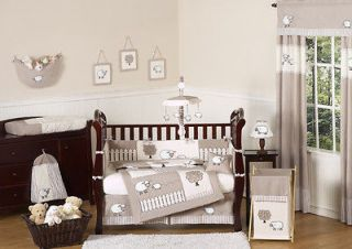 IVORY LAMB SHEEP FARM BABY BOY GIRL CRIB BEDDING SET COLLECTION