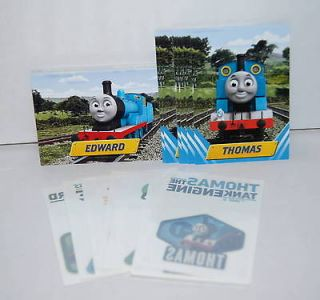 THOMAS THE TANK ENGINE & FRIENDS (2010) Complete Set STICKERS TATTOOS