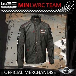 MINI COOPER S WRC LIGHTWEIGHT JACKET (S) 34 36 UNISEX   NEW FOR 2012