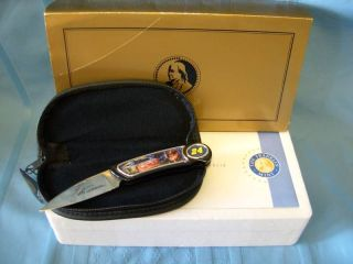 FRANKLIN MINT JEFF GORDON COLLECTOR KNIFE *NEW*
