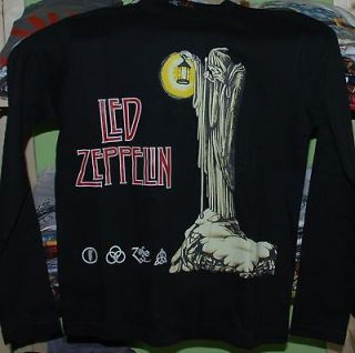 Led Zeppelin Small Long Sleeve T Shirt Rare Jimmy Page Robert Plant