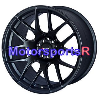 Flat Black Staggered Rims Wheels Concave 5x114.3 Infiniti G35 Coupe