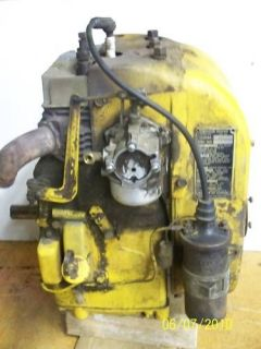 CUB CADET 122 ENGINE KOHLER K301 FOR PARTS ONLY