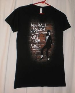 New Authentic Michael Jackson Off the Wall Ladies T Shirt Size Large
