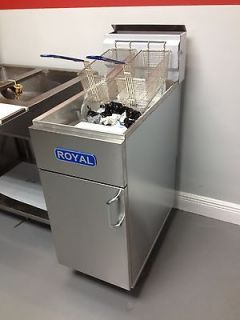 NEW COMMERCIAL 50 LBS DEEP FRYER
