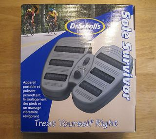 Dr. Scholls Sole Survivor Foot Massager In Box