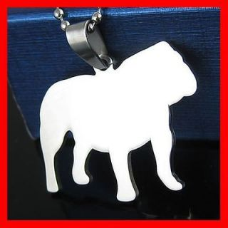 Newly listed ENGLISH AMERICAN PET BULL DOG COLLAR TAG CHARM + CHAIN