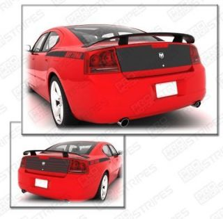 Dodge Charger Trunk Blackout Decal Stripe Kit 2006 2007 2008 2009 2010