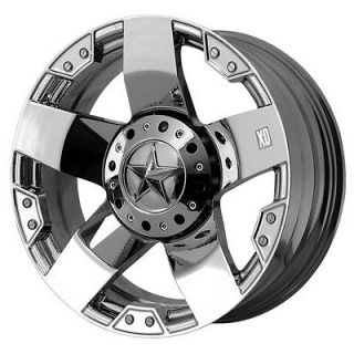 17x8 KMC XD Rockstar Chrome Wheel/Rim(s) 5x127 5 127 5x5 17 8