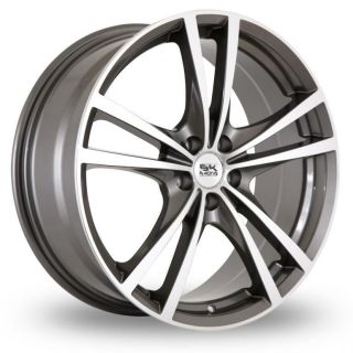 17 BK Racing 182 Alloy Wheels & Goodyear Eagle F1 GS D3 Tyres