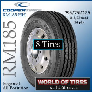 tires   Roadmaster RM185 295/75R22.5 semi truck tire 22.5lp tires