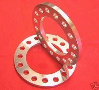 2pcs ALUMINUM Dodge Dually WHEELS SPACERS 8 Lug 1/2
