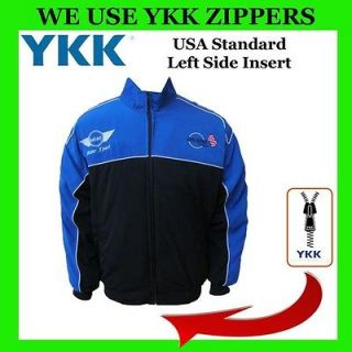 Mini Cooper Racing Jacket Car Coat windbraker (YKK Zippers) Kids