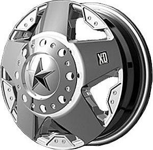 American Racing 77566087299 Rockstar Dually Series XD775 Chrome Wheel