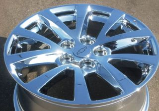 YOUR STOCK 4 2013 NEW 18 FACTORY CHEVY MALIBU OEM CHROME WHEELS RIMS