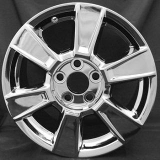 17 GMC Terrain Chrome Wheel Rims 2010 2013 with Caps 5449