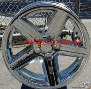 20 IROC Chrome Wheels Rims Tire Cutlass Impala Camaro