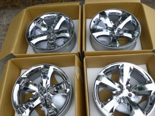 Challenger Charger SRT8 20 Factory Chrome Aluminum Rims Wheels