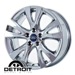 FORD TAURUS 2010 2012 PVD Bright Chrome Wheels Rims Factory 3817