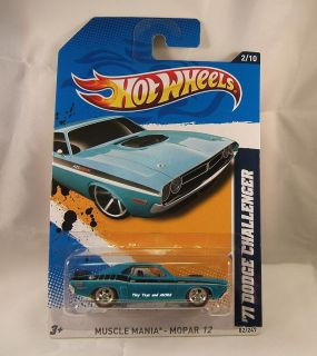 2012 Hot Wheels #082 71 Dodge CHALLENGER CUSTOM Super Secret Treasure
