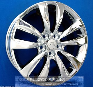Kia Sorento 18 inch Chrome Wheel Exchange 18 Rims New 2012