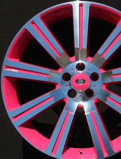 Rover Wheels Rims Custom Color Brand New Stormer 22 2010 2011