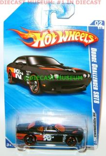 2008 Dodge Challenger SRT8 K N Car Hot Wheels 1 64 2010