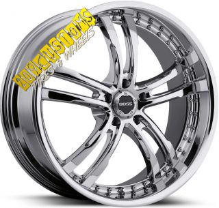 Wheels 337 Chrome Rims Tires 5x115 Chrysler 300 2008 2009 2010