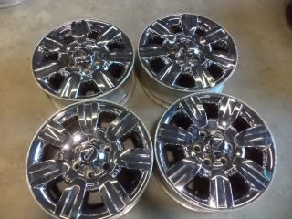 Ford F 150 18 inch Chrome Clad Alloy Wheels 2009 2010 2011 2012