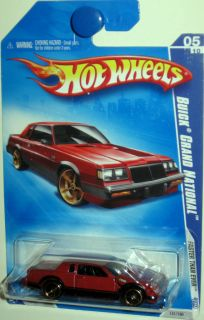 Hot Wheels 2009 Buick Grand National Faster Than Ever