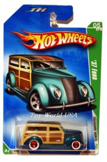 2009 Hot Wheels Treasure Hunt 47 37 Ford Super