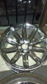 745i 745Li 750i 750Li 760i 7 SERIES 8 SPOKE CHROME RIMS WHEELS 19 19X9