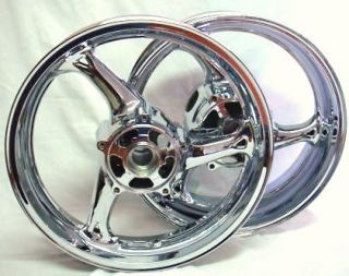 2008 2009 Suzuki Hayabusa Chrome Wheels Exchange