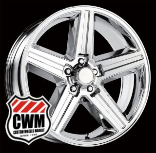 18x8 IROC Z Chrome Replica Wheels Rims 5x4 75 for Chevy Camaro 82 92