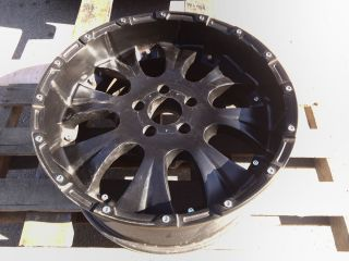 Jeep Wheels Matte Black Offroad Alloys Rims 5 Lug Bolt Pattern