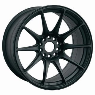 15 XXR 527 Black Rims Wheels 15x8 25 0 4x114 3 AE86 Corolla s14 s13