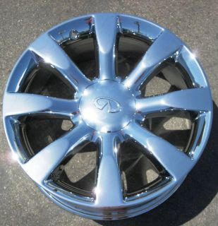 New 20 Infiniti FX45 FX35 Chrome Wheels Rims Murano Maxima M35 M45